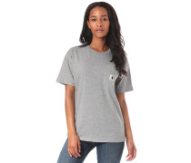 Carrie Pocket T-Shirt grau