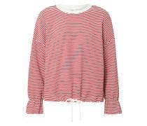 Shirt 'jdybella' weiß / rot