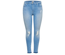 Jeans 'Carmen' blue denim