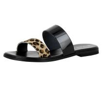 Sandale 'olimpia' mischfarben / schwarz