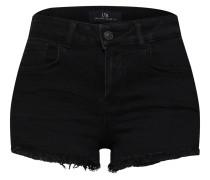 Shorts 'Pamela' black denim