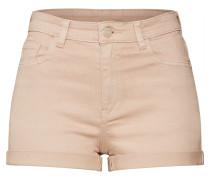 Hosen 'HW Color Shorts' dunkelbeige
