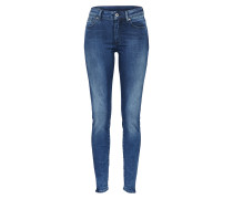 Skinny Jeans 'Shape High' blau