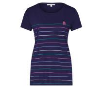 T-Shirt navy / mischfarben