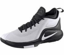 'lebron Witness II' Basketballschuhe schwarz / weiß