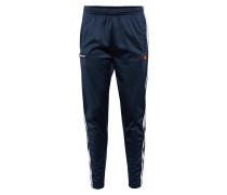 Trackpants 'brizzi' dunkelblau / weiß