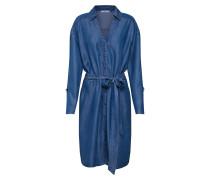 Kleid 'ecom' blau