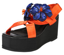Plateau-Sandalette 'Take' orange