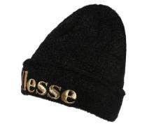 Mütze 'lexi' gold / schwarz