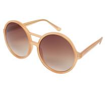 Oversize-Sonnenbrille: 'Coco' pfirsich