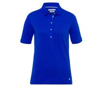 Poloshirt 'Cleo' blau