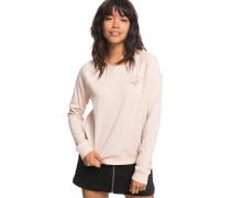 Sweatshirt 'Sunset Spell' hellpink