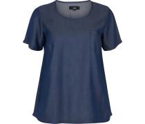 Blusenshirt blue denim