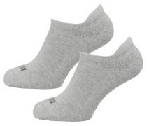 Sneakersocken grau / schwarz