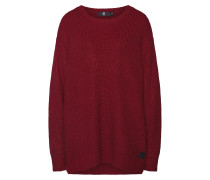 Pullover feuerrot