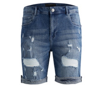 Regular Fit Shorts blue denim