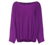Poncho-Pullover lila