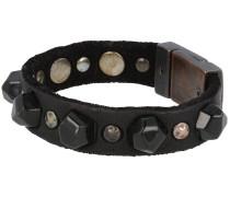 Armband 'Bracciali' 20.5 cm schwarz