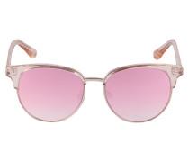 Sonnenbrille 'déja VU' rosa / transparent