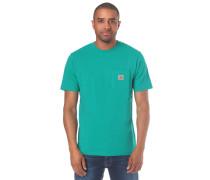 Pocket T-Shirt aqua