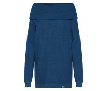Pullover 'Mock Turtle Knit' blau