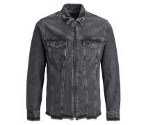 Jeansjacke grau