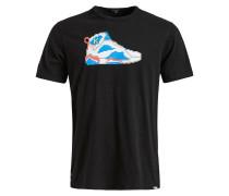 T-Shirt 'Finn Sneaker' schwarz