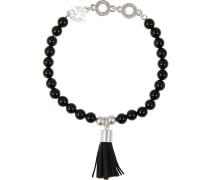 Armband 'p152' schwarz / silber
