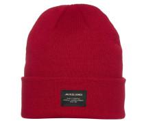 Mütze rot