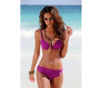 Push-up-Bikini lila