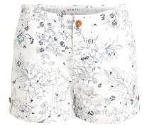 Shorts 'Carida' mischfarben / weiß