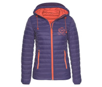 Steppjacke helllila / orange