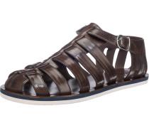 Sandalen kastanienbraun