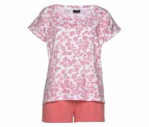 Shorty koralle / pink / weiß