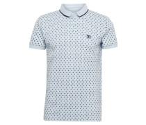 Poloshirt hellblau / schwarz