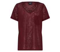 T-Shirt 'objtessi' burgunder