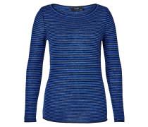 Pullover blau / schwarz