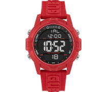 Digitaluhr 'Charge W1299G3' rot