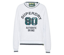 Sweatshirt 'summer Applique Crew'