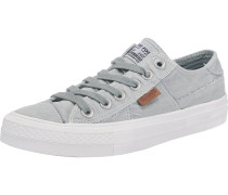 Sneakers opal / weiß