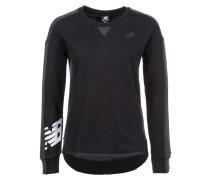 Sweatshirt '247' anthrazit / schwarz