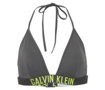 Bikinitop mit Logo-Bund