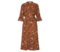 Kleid 'Vivian' hellbraun / mischfarben