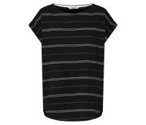Shirt 'Andy' grau / schwarz / weiß