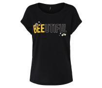 T Shirt gelb / schwarz