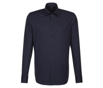 City-Hemd 'Tailored' navy