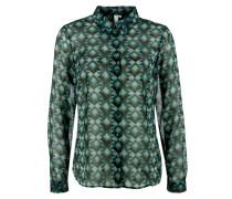 Bluse petrol / smaragd