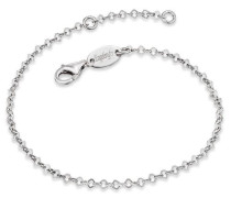 Silberarmband 'erb-Lillace' silber