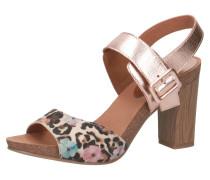 Sandaletten mischfarben / rosegold