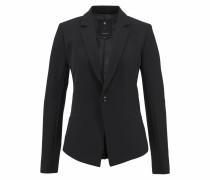 Kurzblazer 'D-staq slim blazer' schwarz